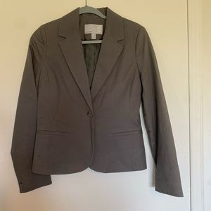 NWOT Old Navy Grey Blazer One Button Size Medium